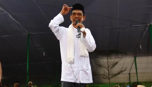 Oh, Ini Alasan UAS Bertemu Prabowo saat Pilpres!