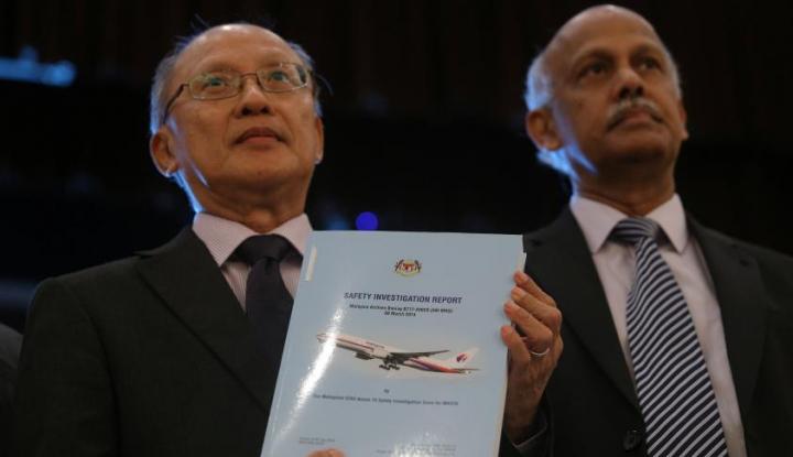 Foto Berita Penyebab Jatuhnya MH370 Masih Menjadi Misteri