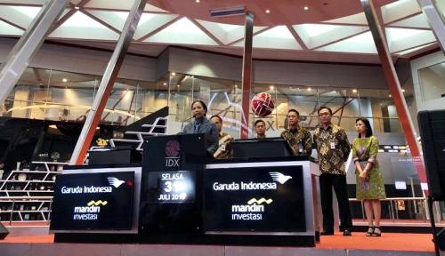 Foto Garuda Indonesia Terbitkan KIK EBA, Ini Kata Menteri Rini