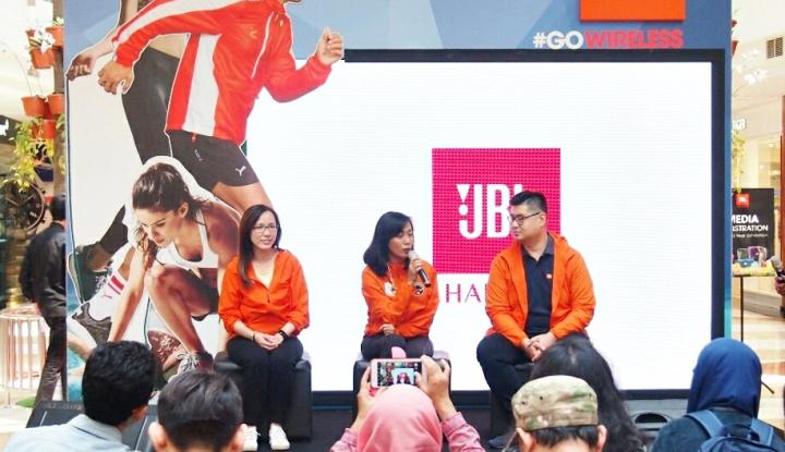 Foto Berita JBL Perkenalkan Lini Sport Headphone dan Brand Ambassador Terbaru