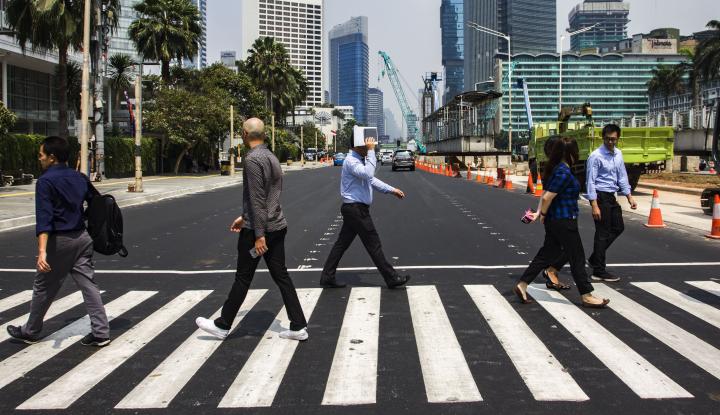 Foto Berita Ini Tuntutan Koalisi Pejalan Kaki di Ibu Kota