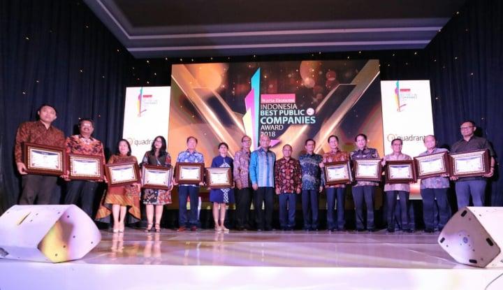Foto Berita Inilah 92 Emiten Peraih Indonesia Best Public Company 2018