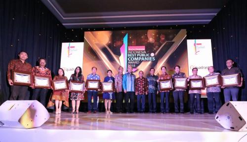Inilah 92 Emiten Peraih Indonesia Best Public Company 2018
