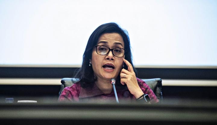 Foto Berita Saat Sri Mulyani Rela Jadi 'Menteri Penghibur' untuk Warga NTT...