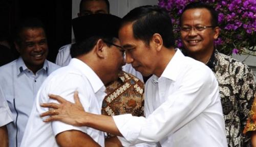 Foto Jokowi soal Prabowo-Sandi: Teman Baik dan Sahabat Lama Saya