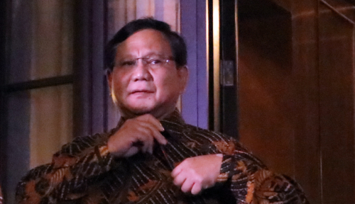 Foto Prabowo: Saya Imbau Penegak Hukum....