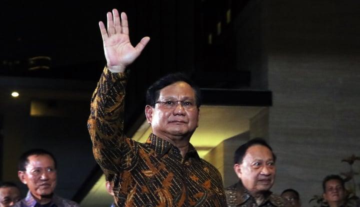 Foto Berita Jelang Hari Pertama Pendaftaran Capres, Rumah Prabowo Sibuk Didatangi Elit Partai