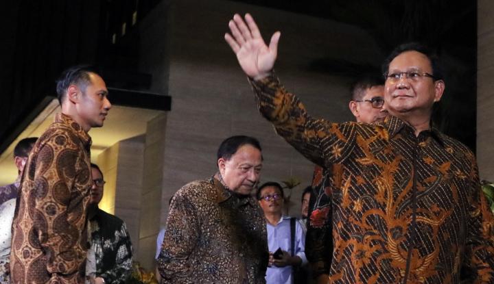Foto Berita Prabowo- Kalla Kadang Lawan, Kadang Teman
