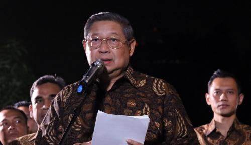 Malam Ini, SBY akan Pidato Politik dari Cikeas