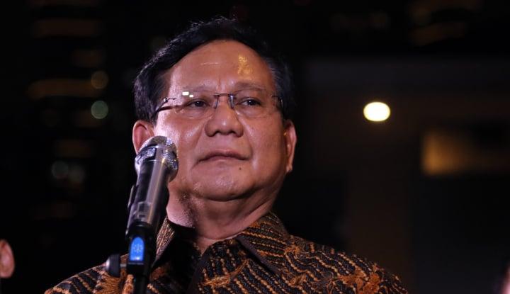Foto Berita Video Prabowo Dipotong, Gerindra 'Marah'