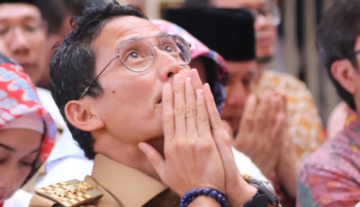 Foto Berita Dampingi Prabowo, Sandiaga Uno Lepas Jabatan Wagub DKI Jakarta, Benarkah?