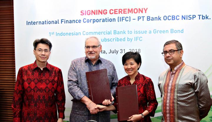 Foto Berita IFC Putuskan Investasi US$150 Juta di Green Bond OCBC NISP