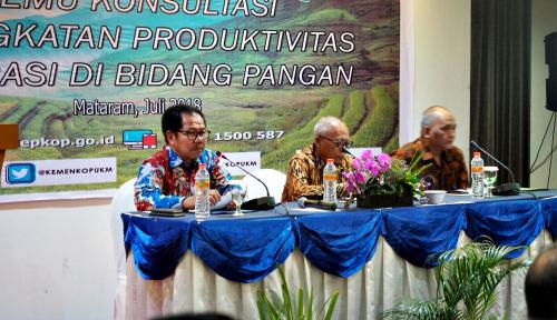 Foto Tingkatkan Sektor Pangan, LPDB Imbau KUD NTB Manfaatkan Dana Bergulir