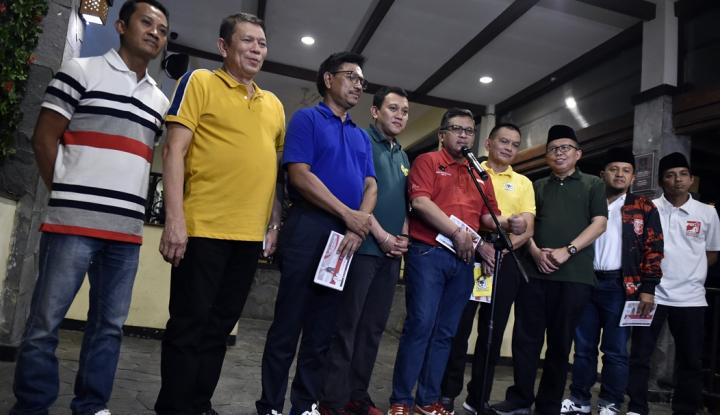 Foto Berita Koalisi Jokowi Bakal Membentuk Tim 27, Siapa Saja?