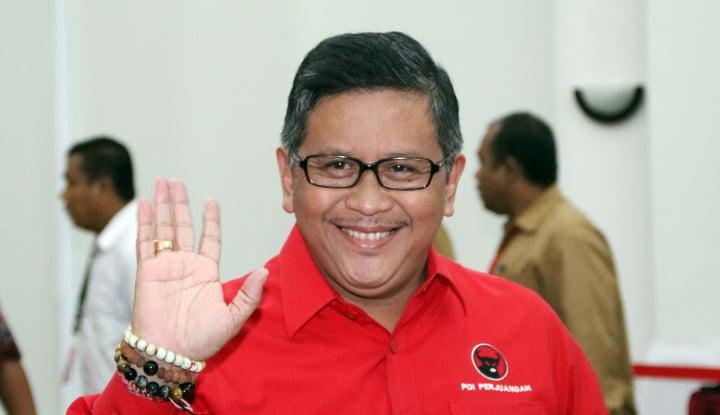 Foto Berita Hasil Survei Positif, Hasto: TKN Jokowi Makin Semangat