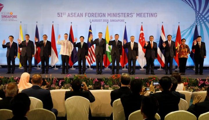 Foto Berita Para Menteri Ekonomi ASEAN Berkomitmen Percepat Penyelesaian RCEP