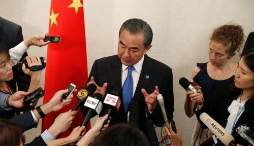 Jelang Naiknya Biden ke Kursi Presiden, Eh Menlu China Tebar Pesona di ASEAN