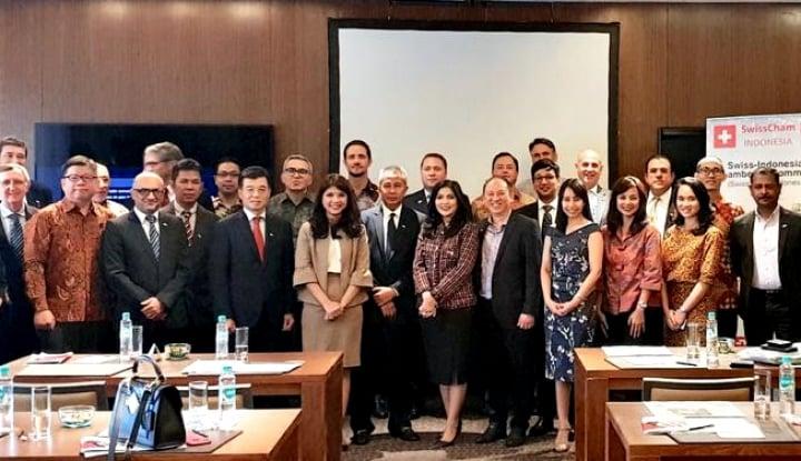 Foto Berita 47 Perusahaan Swiss Bentuk Perkumpulan SwissCham Indonesia