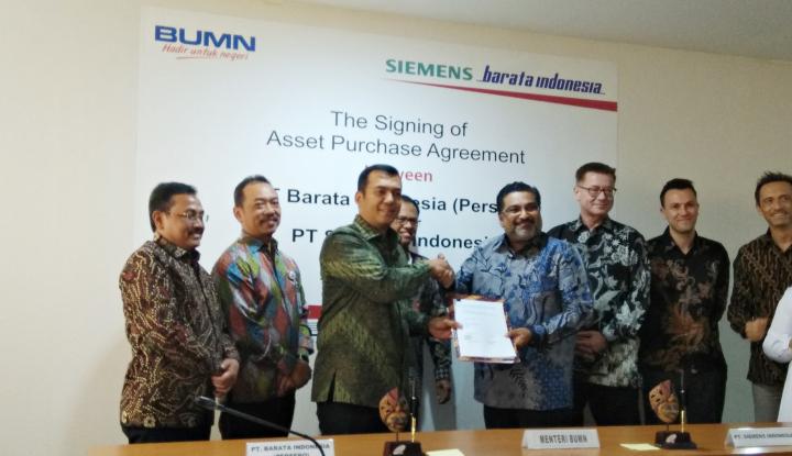 Pabrik Siemens Turbine di Cilegon Diakuisisi Barata Indonesia - Warta Ekonomi