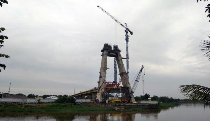 Foto Berita Jembatan Siak IV Diharapkan Selesai Tepat Waktu