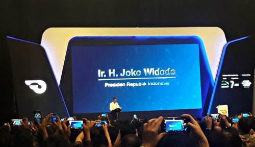 Foto Jokowi Buka Pameran Otomotif GIIAS 2018