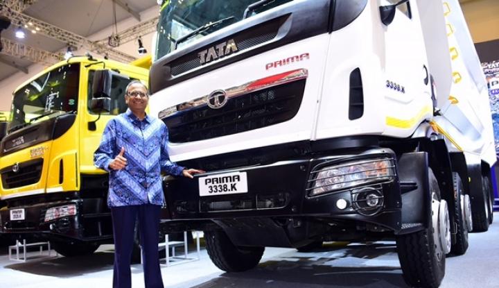 Tata Motors Luncurkan Truk Tambang dan Logistik di GIIAS 2018 - Warta Ekonomi