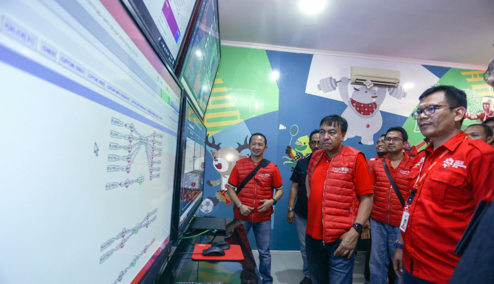 Foto Berita Direktur Network Telkomsel Pantau Jaringan Asian Games