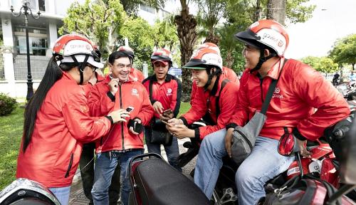 Foto Go-Viet Kuasai 35% Pasar Transportasi Online Roda 2 di Vietnam