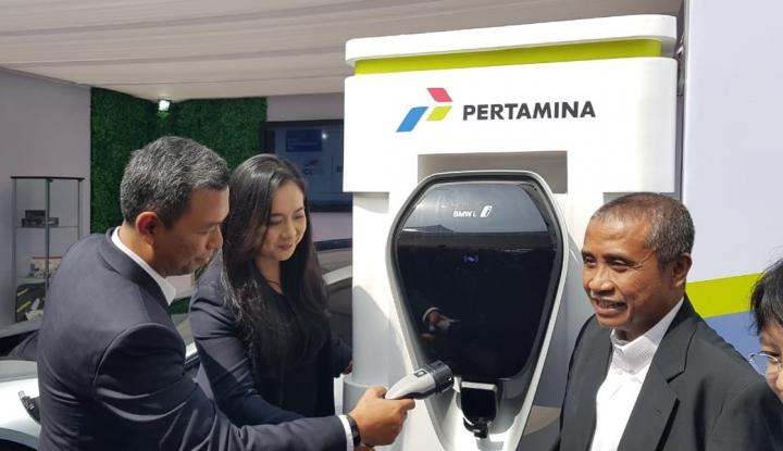 Foto Berita Green Energy Station, Teknologi Pengisian BBM Mobil Listrik Masa Depan