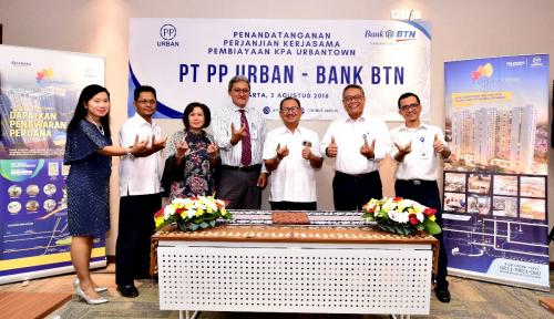 Foto Sukseskan Program Satu Juta Rumah, PP Urban Dapat Pembiayaan dari BTN