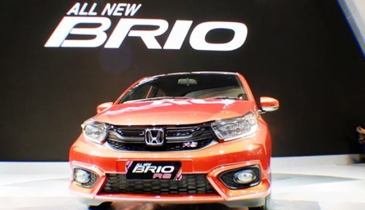 Foto Berita All New Brio Paling Laku Warna Putih