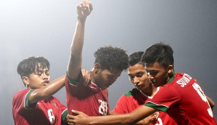 Foto Berita Kalahkan Iran, Menpora Sebut Timnas U-16 Indonesia Bak Real Madrid