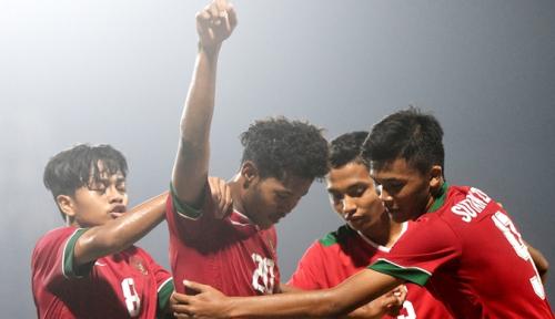 Foto Kalahkan Iran, Menpora Sebut Timnas U-16 Indonesia Bak Real Madrid