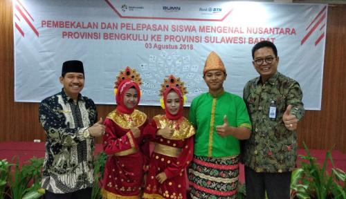 Foto BTN Ajak Siswa Bengkulu Mengenal Nusantara