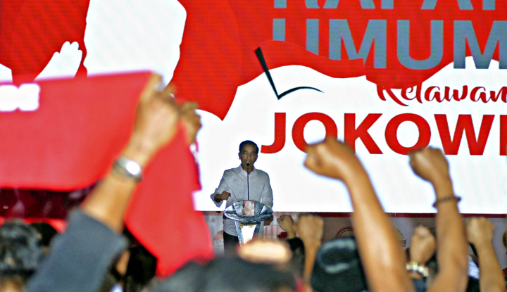 Foto Berita Menteri Kabinet Bela Jokowi: Lihat Pidatonya yang Utuh Dong!