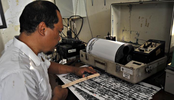 Foto Berita BMKG Tegaskan Pusat Gempa Lombok Bukan di Laut