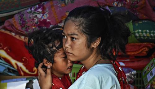 Foto BFI Finance Bangun Harapan Anak-anak Lombok Melalui Sekolah Indonesia Cepat Tanggap