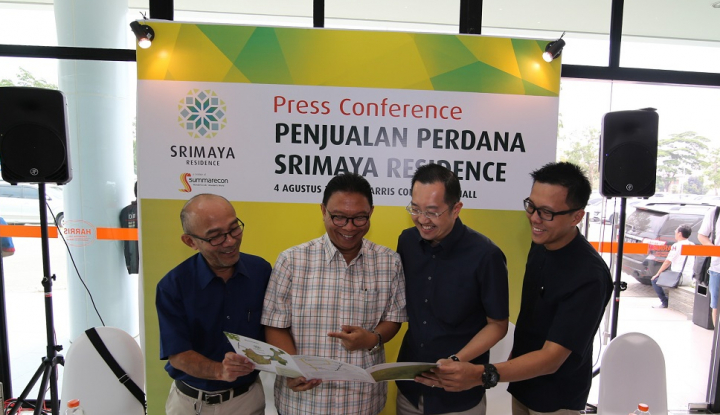 Foto Berita Perdana, Summarecon Jualan Rumah Harga Rp340 Juta