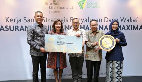 Foto Sun Life Financial Indonesia Hadirkan Produk Asuransi untuk Wakaf