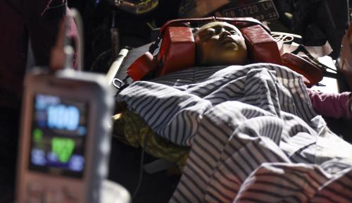Foto Kemenkes Kerahkan 87 Tenaga Kesehatan ke Lombok