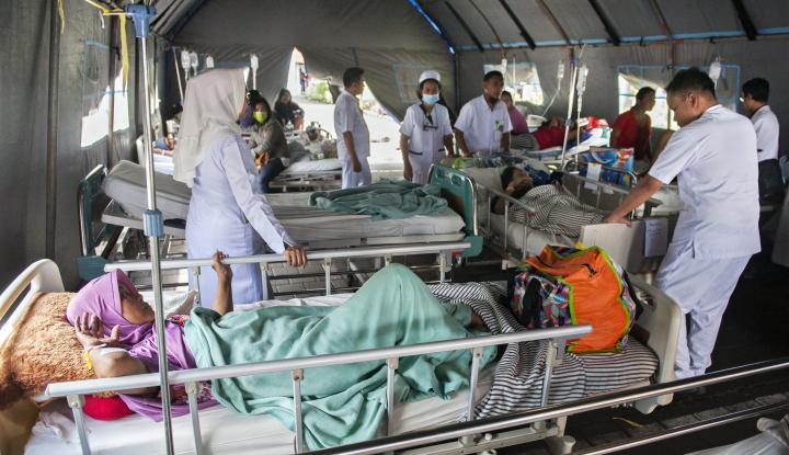 Foto Berita PMI: Pemulihan Korban Pascabencana Lombok Harus Masif