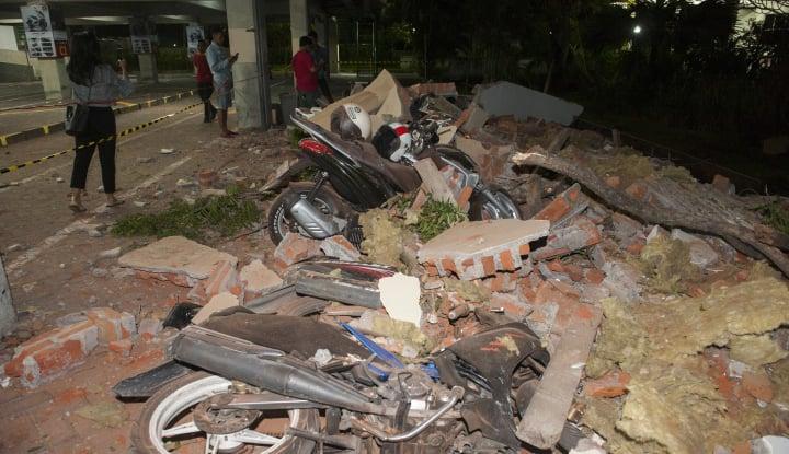 Foto Berita 82 Orang Meninggal Akibat Gempa di Lombok