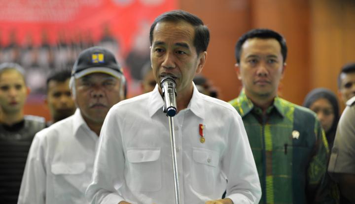 Foto Berita Begini Penjelasan Jokowi Soal Arahannya Ajak 'Berantem'