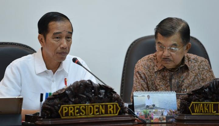 Foto Berita Empat Tahun Kepemimpinan Jokowi-JK, Uang Negara Selamat Rp2 T
