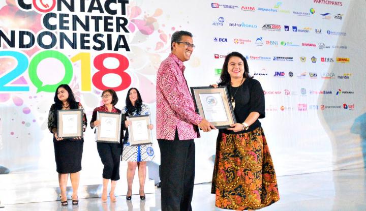 Foto Berita AAI Indonesia Sabet Penghargaan Contact Center 2018