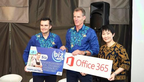 Foto Sasar Pebisnis, XL Axiata-Microsoft Hadirkan Paket BIZ