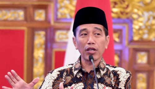 Foto Jelang Pilpres, Jokowi Panik?