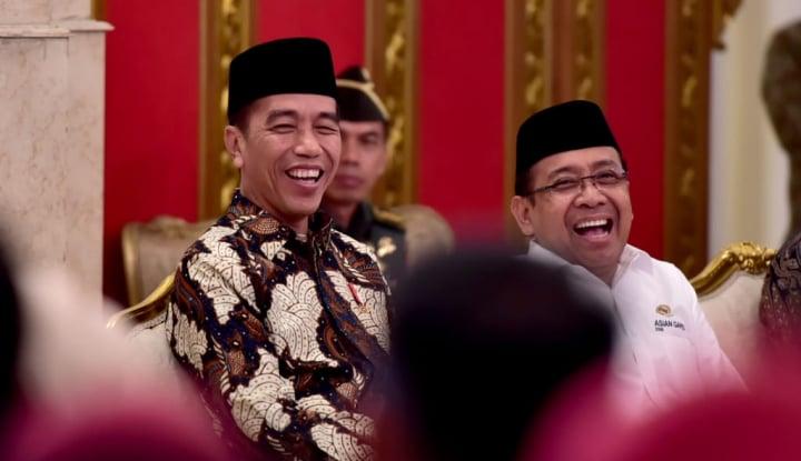 Foto Berita Ini Kata Jokowi Soal Prabowo-Sandi, 'Kardus Kosong'?