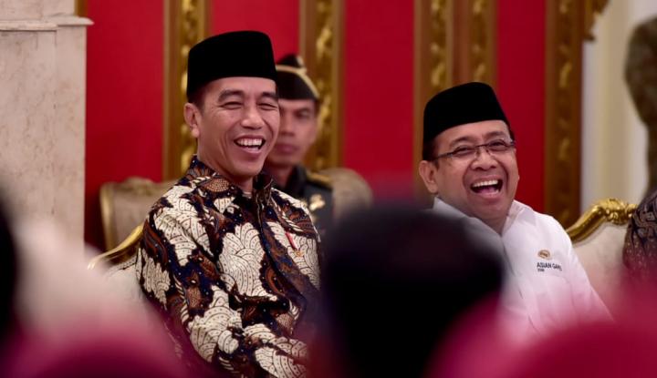 Foto Berita Jokowi: Saya ini Muslim, yang Anti-Ulama Sebelah Mananya?