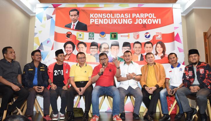 Foto Berita Jokowi Resmi Tinggalkan Kotak-Kotak, Ini Atribut Barunya di Pilpres 2019